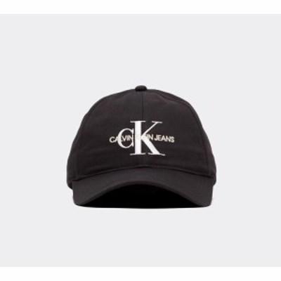 カルバンクライン Calvin Klein Jeans メンズ キャップ 帽子 monogram cap Black/White