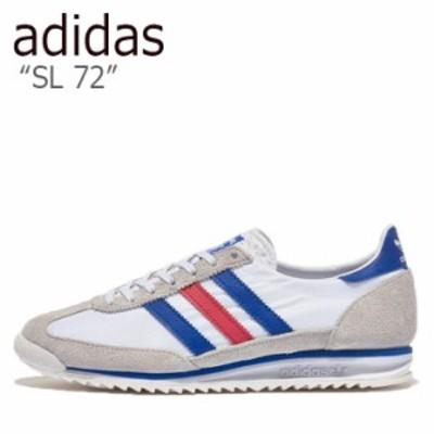 アディダス スニーカー adidas SL 72 エスエル 72 MULTI マルチ WHITE ホワイト BLUE ブルー RED レッド FV4430 シューズ