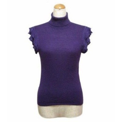 et vous プリンセスフリルノースリーブカットソー (Princess frill no sleeves cut sew) エヴー t 044325【中古】