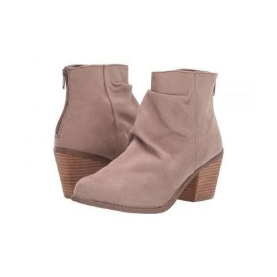 Not Rated ノットレーテッド レディース 女性用 シューズ 靴 ブーツ アンクルブーツ ショート Salta - Taupe