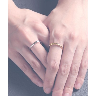 MAISON mou / 【YArKA/ヤーカ】two pcs one series nuance ring/重ねニュアンスリング silver925 WOMEN アクセサリー > リング