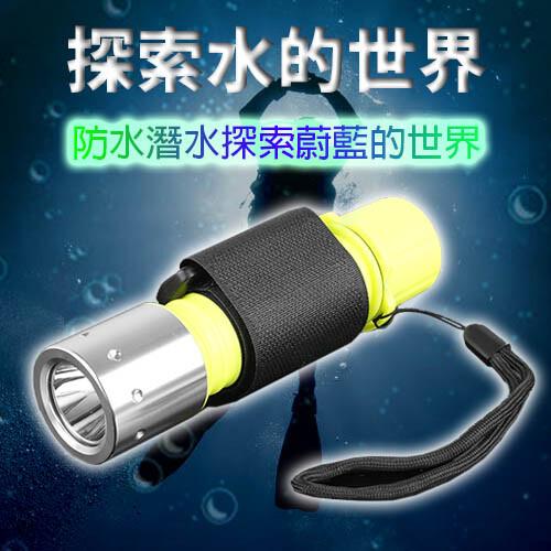 wide view螢光t6潛水手電筒組(附電池+充電器nzl-wt6-ap)