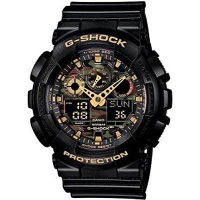 [カシオ]CASIO 腕時計 G-SHOCK 海外モデル Camouflage Dial Series GA-100C(未使用品)