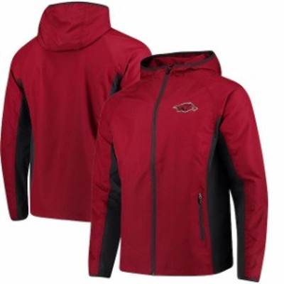 Colosseum コロセウム スポーツ用品  Colosseum Arkansas Razorbacks Cardinal Archer Full-Zip Jacket