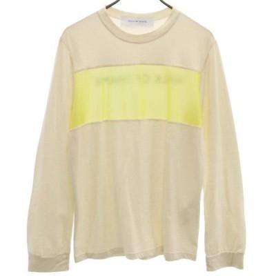未使用 ローズバッド ロングスリーブ カットソー 長袖 Tシャツ S 白 ROSE BUD WALK OF SHAME レディース  200727 メール便可