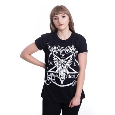 インペリコン Impericon レディース Tシャツ トップス - Black Metal - T-Shirt black