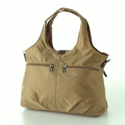 バッグ カバン 鞄 レディース トートバッグ 手提げバッグ ロングヒット商品多収納 軽量 A4対応で使いやすい2WAYトートバッグ カラー ベージュ