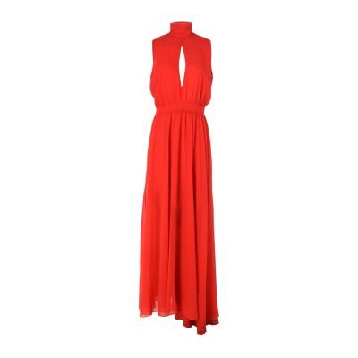 LADY CHOCOPIE ロングワンピース&ドレス レッド M 100% ポリエステル ロングワンピース&ドレス