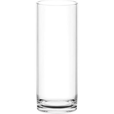 クレイクレイ 割れない花瓶 フラワーベース PC straight-R ストレートアール 150×400mm 930-156-000(直送品)