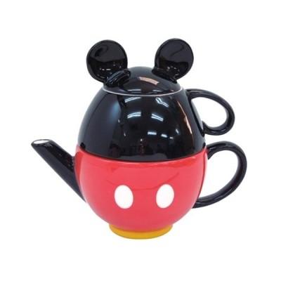 ミッキーマウス グッズ ティーセット ティーポット ティーカップ ディズニー