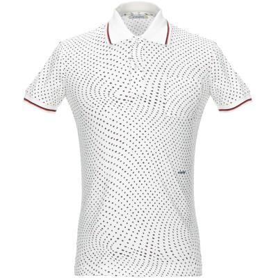 アイスバーグ ICEBERG ポロシャツ ホワイト S コットン 100% ポロシャツ