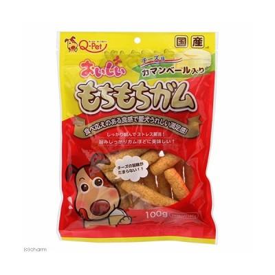 九州ペットフード おいしいもちもちガムチーズ入り100g 犬 おやつ デンタルケア 犬 おやつ ガム