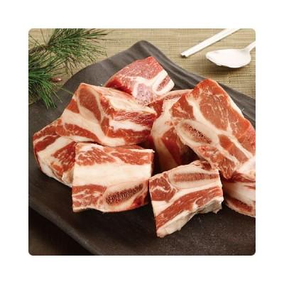 [凍]スープ用牛カルビ1kg-アメリカ産/韓国焼肉/カルビ
