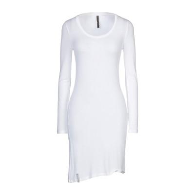 マニラ グレース MANILA GRACE ミニワンピース&ドレス ホワイト 2 レーヨン 92% / ポリウレタン 8% ミニワンピース&ドレス