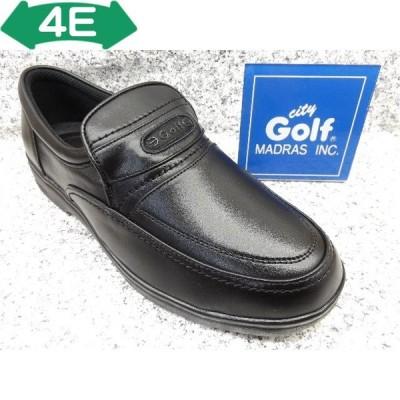 City Golf シティゴルフ GF8502 ブラック│ メンズ 革靴 ビジネスシューズ 23.5cm-27.0cm