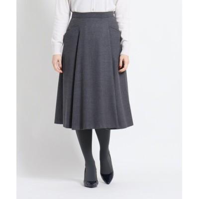 WORLD ONLINE STORE SELECT / アンストレッチボタニーミモレスカート WOMEN スカート > スカート
