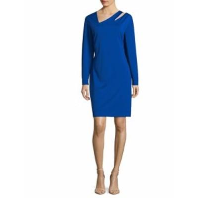 アレクシアアドモール レディース ワンピース Long Sleeve Cut-Out Sheath Dress