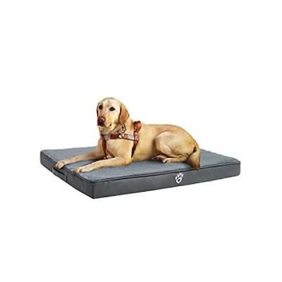 Utotol Orthopedic Dog Bed for Medium/Large Dogs, Memory Foam Pet Bed Mattre