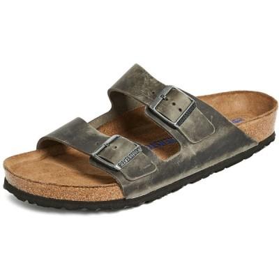 ビルケンシュトック メンズ サンダル シューズ・靴 Arizona SFB Sandals Iron