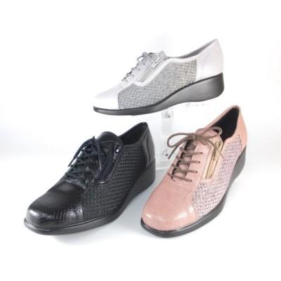 リスマーク 靴 リスのマーク 靴 後藤産業 靴 gotou sangyo 3304 クロ ローズ シルバー スニーカー レディース 歩きやすい靴 軽い 履きやすい靴 婦人靴 50 60 70
