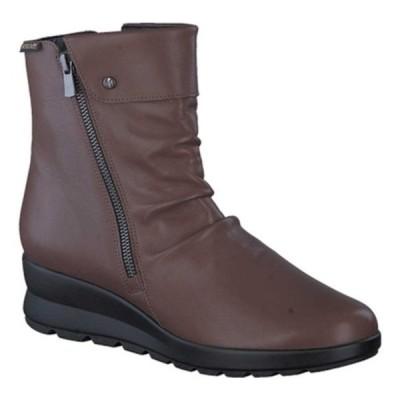 メフィスト ブーツ&レインブーツ シューズ レディース Phila Slouch Boot (Women's) Hazelnut Silk Smooth Leather