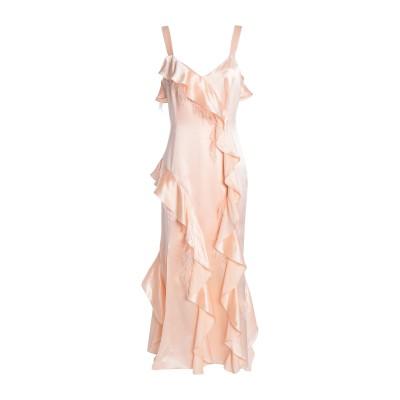 CINQ À SEPT 7分丈ワンピース・ドレス ピンク 0 シルク 100% 7分丈ワンピース・ドレス