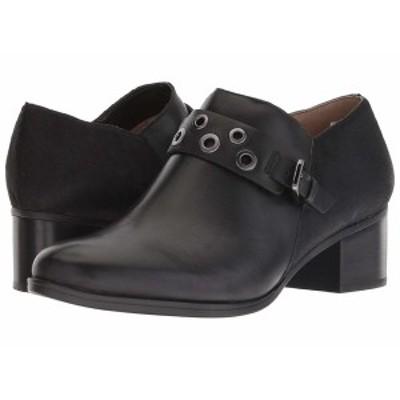 ナチュライザー レディース ヒール シューズ Delta Black Leather