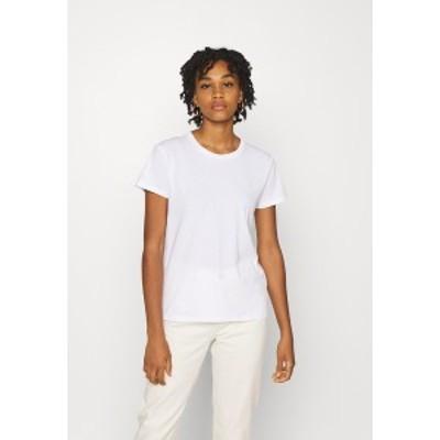 リー レディース Tシャツ トップス SLIM FIT TEE - Basic T-shirt - bright white bright white