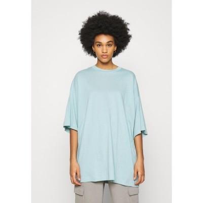 ウィークデイ Tシャツ レディース トップス HUGE - Basic T-shirt - dusty blue