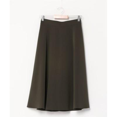 BEAMS WOMEN / Demi-Luxe BEAMS / ウエストステッチ フレアスカート WOMEN スカート > スカート
