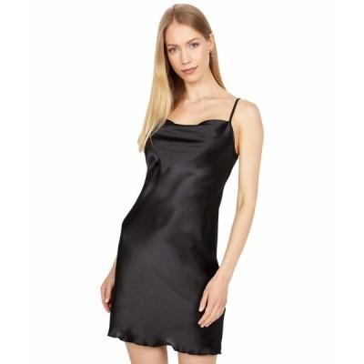 ベベ ワンピース トップス レディース Satin Bias Mini Dress Black