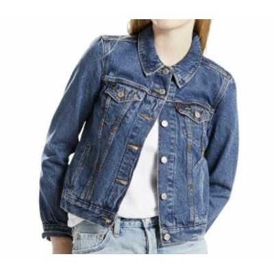 Levis リーバイス ファッション 衣類 Levis Original Womens Blue Size XS Star Denim Trucker Jacket Dance