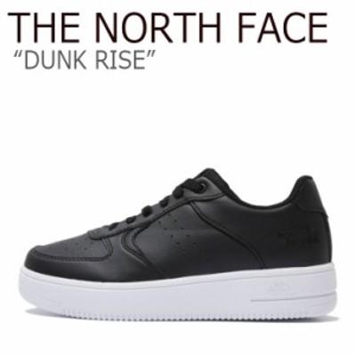 ノースフェイス スニーカー THE NORTH FACE メンズ レディース DUNK RISE ダンク ライズ BLACK ブラック NS93K37K シューズ