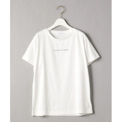BEAUTY&YOUTH UNITED ARROWS/ビューティ&ユース ユナイテッドアローズ BY コットンプリントTシャツ2 WHITE S