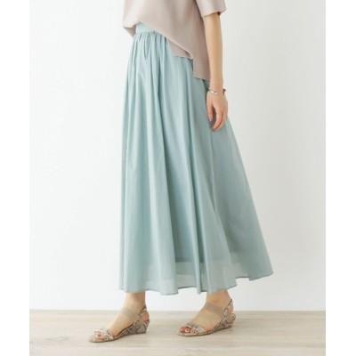 OPAQUE.CLIP / ローン フレアスカート【イージーケア/接触冷感/WEB限定サイズ】 WOMEN スカート > スカート