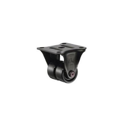 ハンマーキャスター 低床式中荷重用キャスター(ナイロン車輪・固定式)車輪径38mm 550R-N2-38