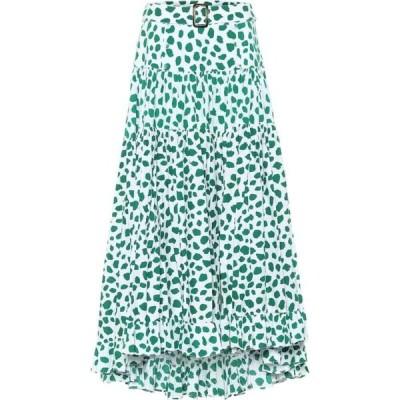 アレクサンドラ ミロ Alexandra Miro レディース ロング・マキシ丈スカート スカート Penelope leopard-print cotton maxi skirt Leo Print