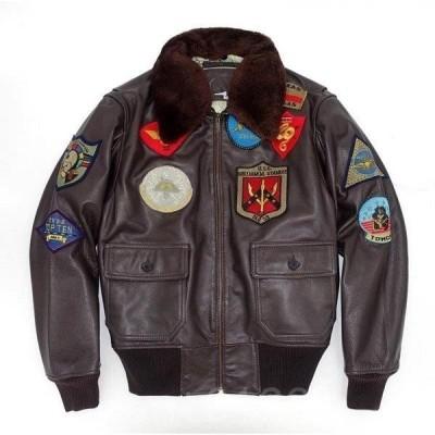 本革ジャケット牛革製ジャケットカッコイイフライトジャケットライダースジャケット革ジャンレザーコート防寒防風メンズコートアウター