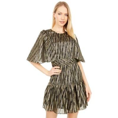 ビーシービージーマックスアズリア レディース ドレス  Metallic Dot Cocktail Dress