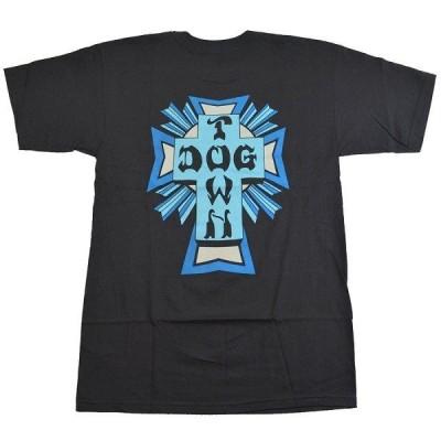 DOGTOWN Cross Logo Color Tシャツ BLACK