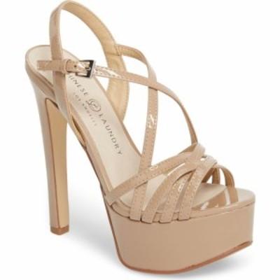 チャイニーズランドリー CHINESE LAUNDRY レディース サンダル・ミュール シューズ・靴 Teaser2 Platform Sandal Nude Patent