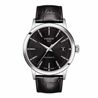Tissot mens Classic Dream Stainless Steel Dress Watch Black T1294071605100