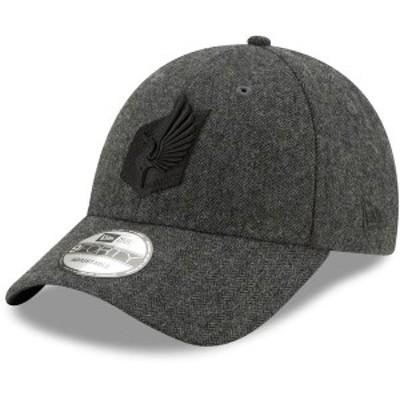 ニューエラ メンズ 帽子 アクセサリー Minnesota United FC New Era Linen 9TWENTY Adjustable Hat Gray