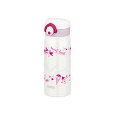 サーモス【セール品】サーモス(THERMOS) 水筒 真空断熱ケータイマグ 400ml ホワイト JNR-400 WH ワンタッチボトル