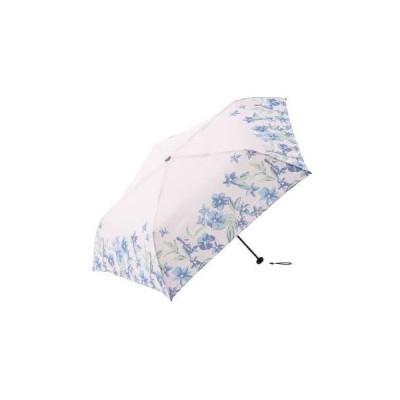 [ アフタヌーンティー リビング ] AfternoonTea LIVING 折りたたみ傘 GM13 ヘム フラワー 晴雨兼用 (ピンク —)