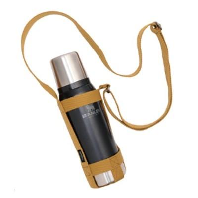 asobito アソビト ボトルホルダー キャメル ab-020CM 水筒 ベージュ