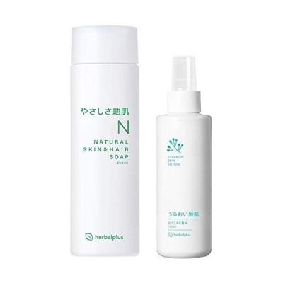 やさしさ地肌&うるおい地肌化粧水セット 各1本 フケ かゆみ 脂漏性 頭皮 乾燥 保湿 シャンプー (やさしさ地肌&うるおい地肌)