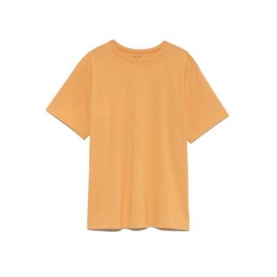 【ミラオーウェン】 ハイライン丸胴Tシャツ レディース オレンジ 0 Mila Owen