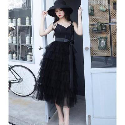 パーティードレス キャバドレス ワンピース レディース セクシー 黒 お呼ばれ 結婚式 大きいサイズ 白 ミモレ丈 高品質 コンサート ロングドレス 二次会