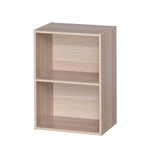 日本IRIS木質二空櫃-淺木色 W41.5H59.5